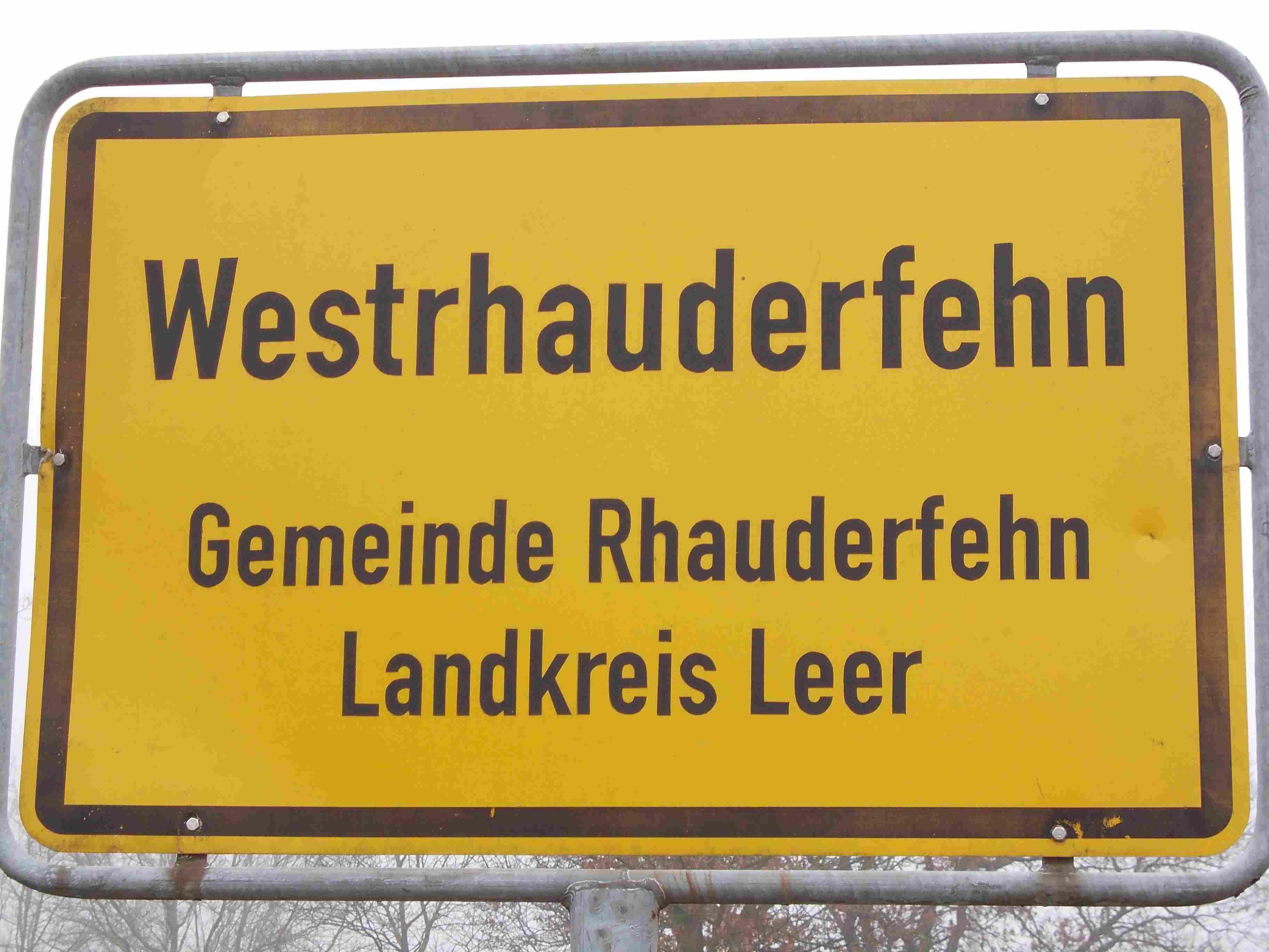 Ortsschild_westrhauderfehn